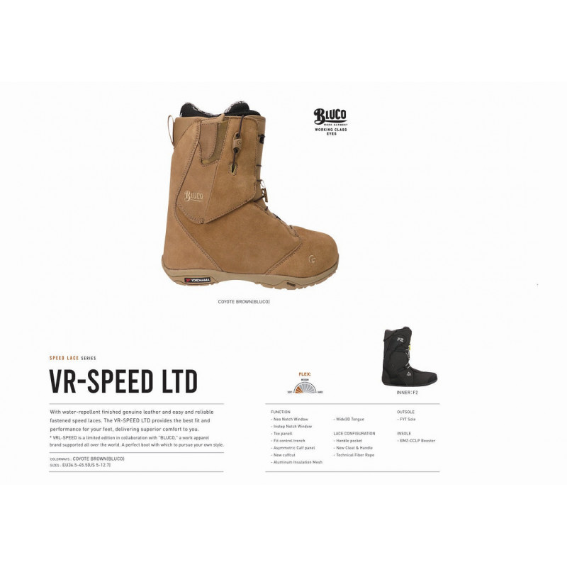 BOTA SNOWBOARD FLUX VR SPEED LACE...