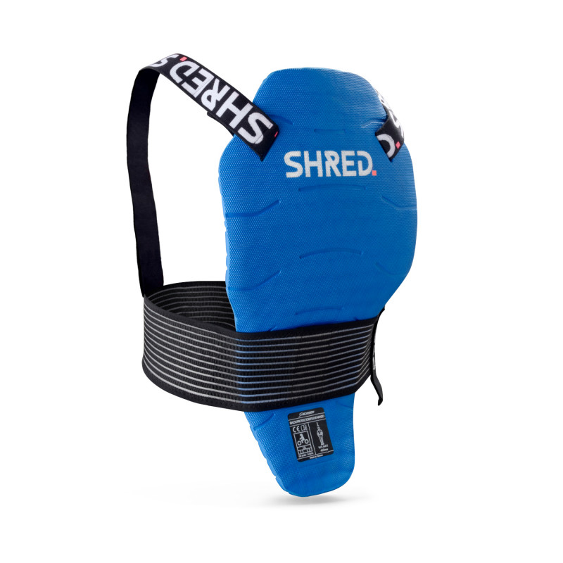 SHRED FLEXI BACK PROTECTOR NAKED